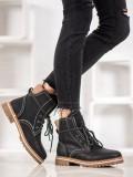 Zateplené topánky na šnurovanie