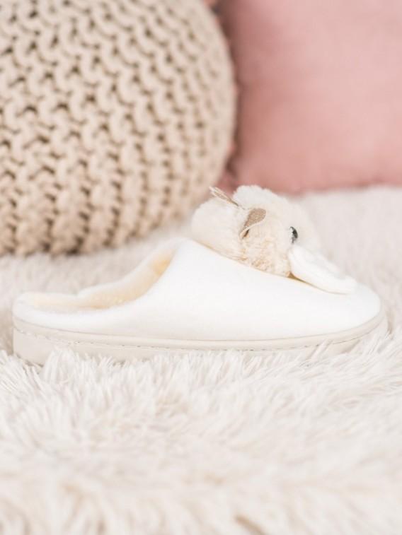 Papuče s mašľou