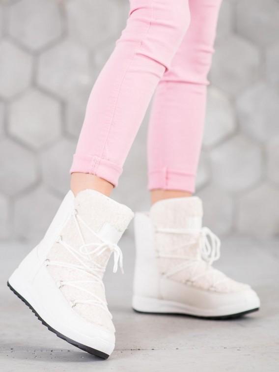 Zimné topánky s kožúškom