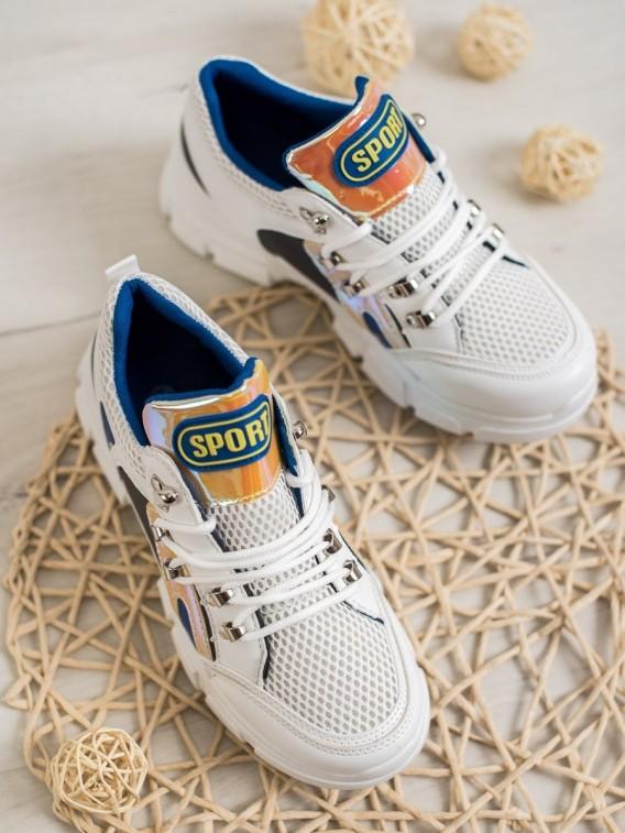 Sieťkované sneakersy Fashion