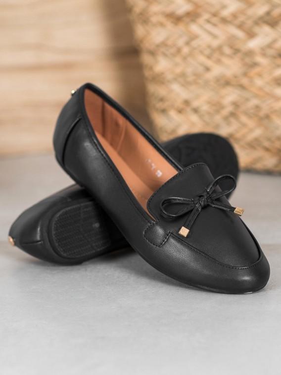 Elegantné čierne baleríny