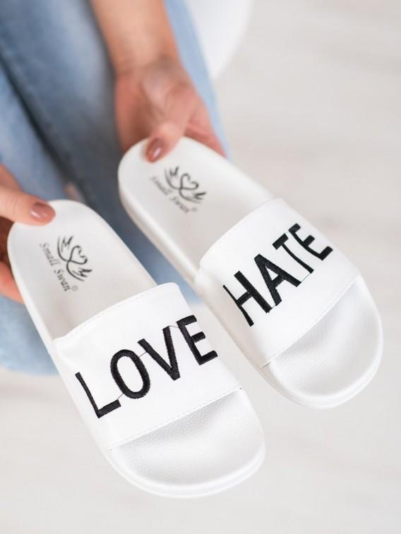 Nazúvačky z eko kože Love & Hate