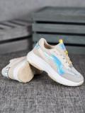 Béžové sneakersy so sieťčkou