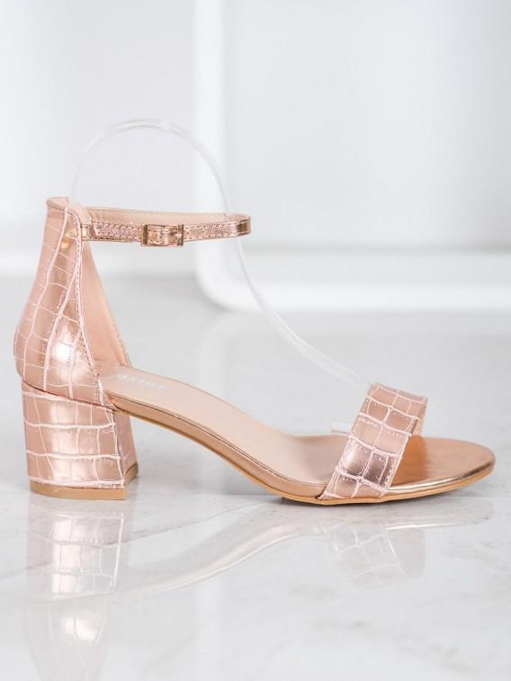 Sandále z eko kože