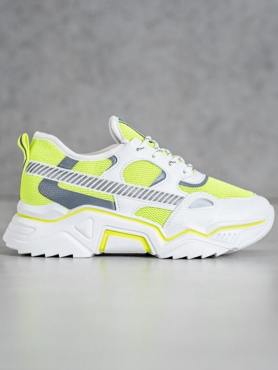 Neónové sneakersy