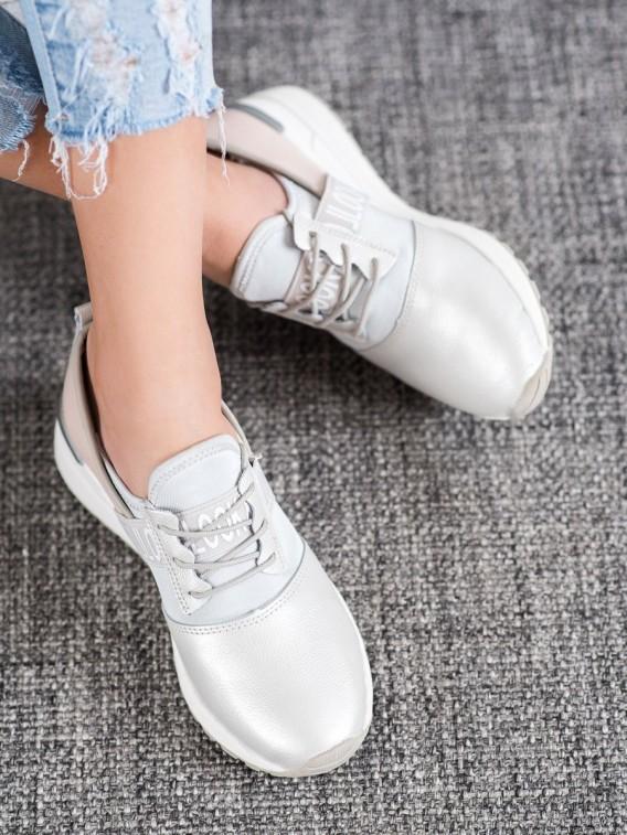 Kožené sneakersy LOOK