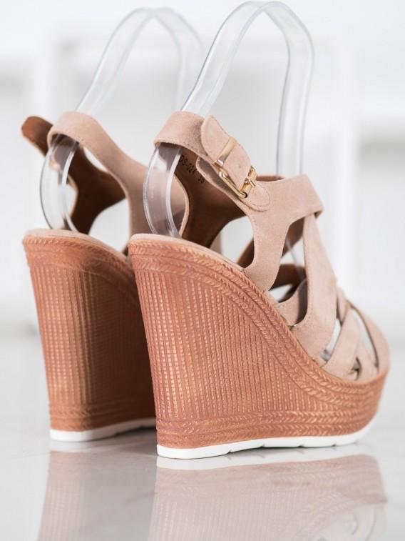 Sandále na kline Fashion