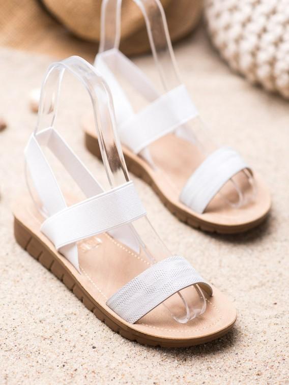 Šľapky sandálky na platforme