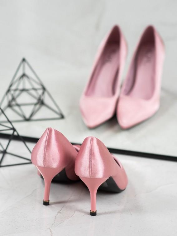 Klasické ružové lodičky