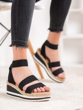 Nazúvacie topánky na kline s gumou