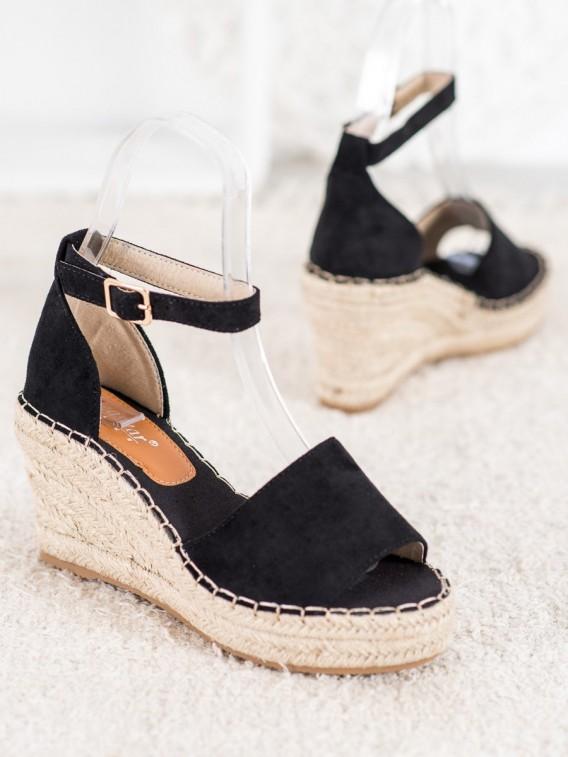 Sandále na slamenom kline