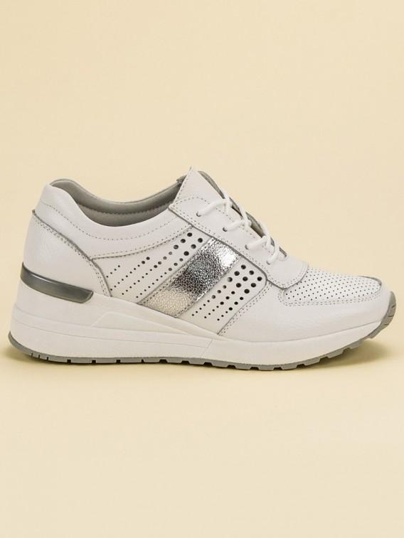 Kožené sneakersy na kline