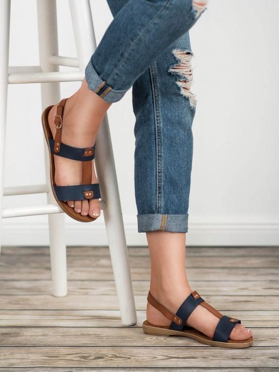 Sandálky na zapínanie