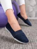 Semišové topánky slipony