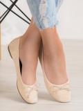 Neformálne baleríny zo semišu