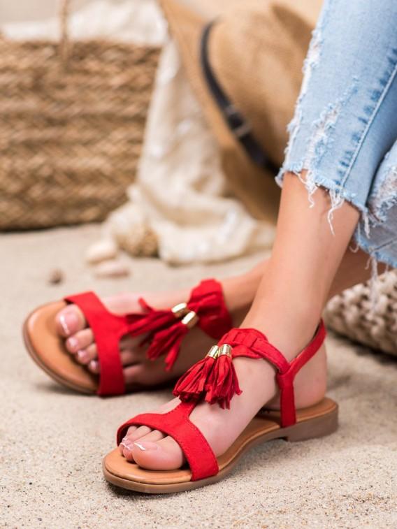 Sandálky so strapcami