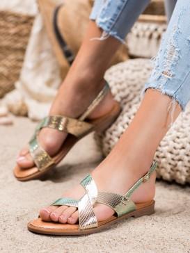 Sandálky s holografickým efektom