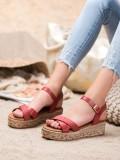Módne sandále z eko kože