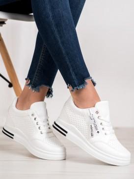 Biele sneakersy Evolutions