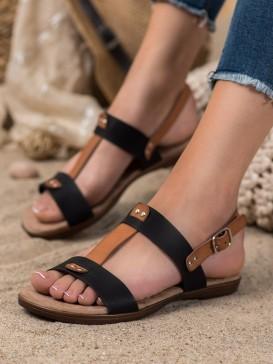 Sandálky s prackou na zapínanie
