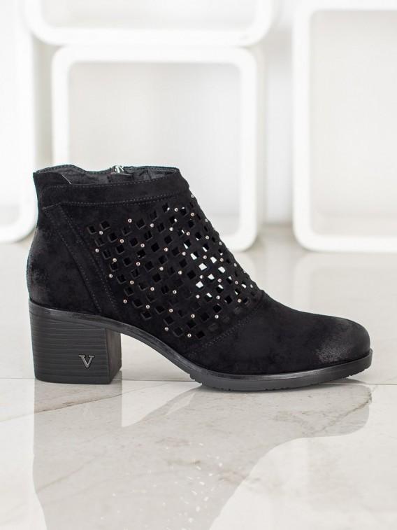 Dierkované členkové topánky Vinceza