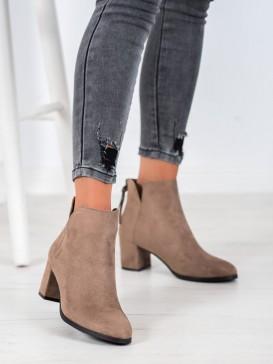 Členkové topánky na zips