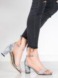 Štýlové sandálky so vzorom