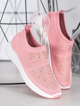 Nazúvacie topánky s kryštálmi