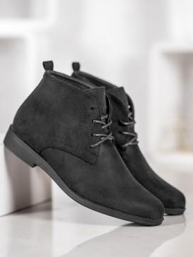 Pohodlné semišové topánky