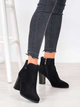 Elegantné členkové topánky s kryštálmi