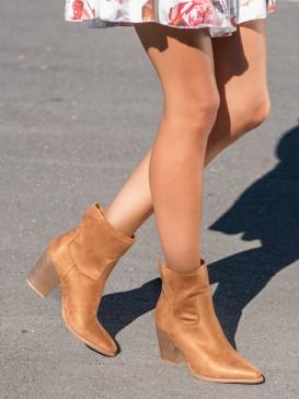 Vysoké členkové topánky kovbojky