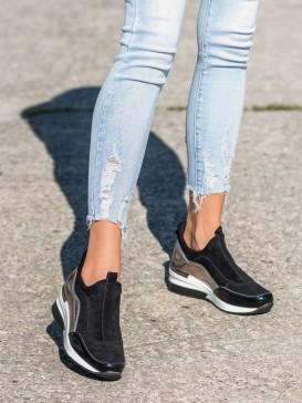 Kožené nazúvacie topánky