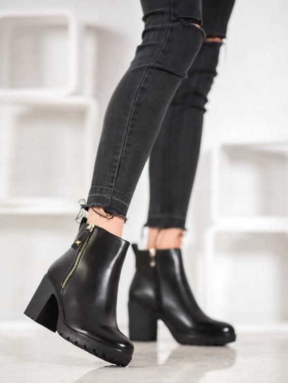 Zateplené pohodlné členkové topánky