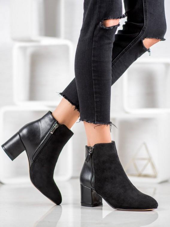 Elegantné členkové topánky