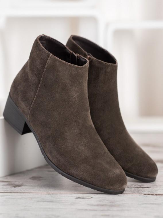 Klasické kožené topánky
