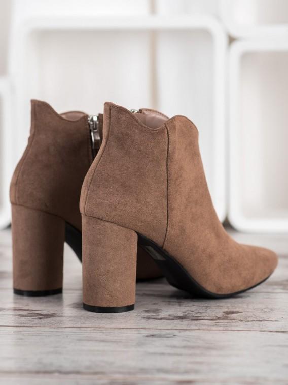 Štýlové semišové topánky