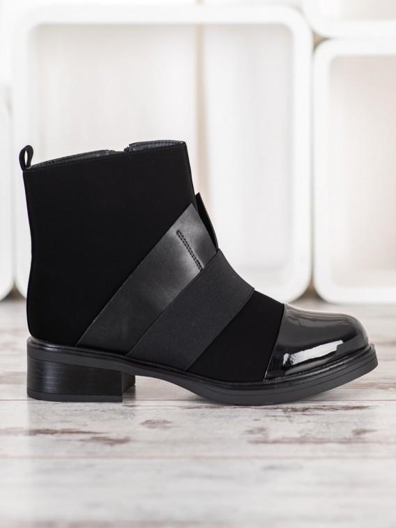 Čierne topánky fashion