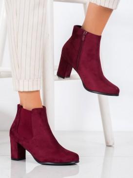 Bordové topánky