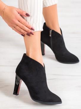 Sexy členkové topánky na podpätku