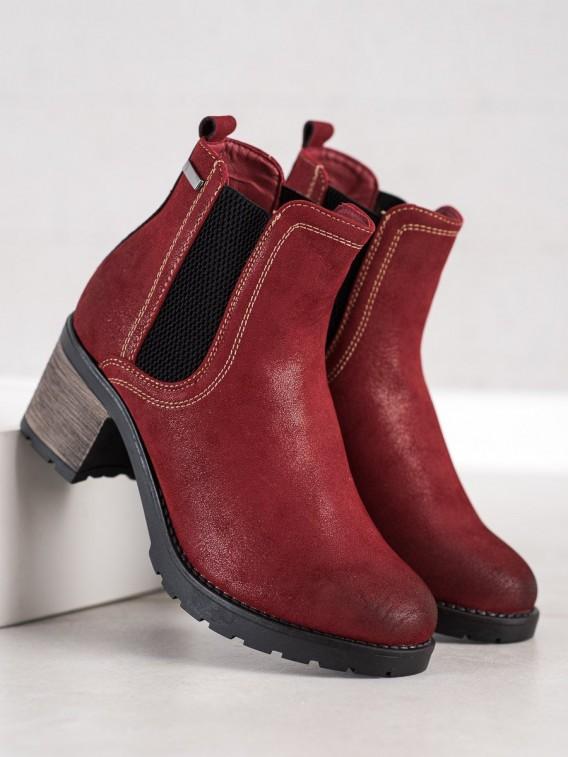Štýlové topánky s brokátom