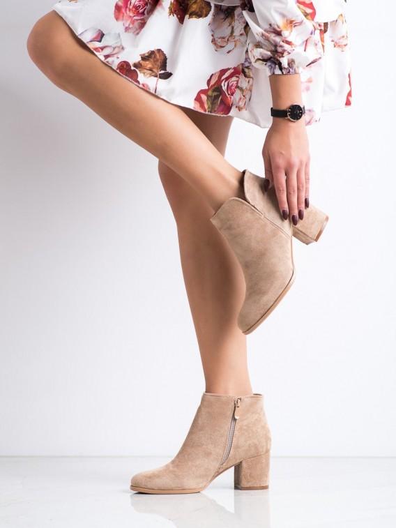 Štýlové topánky na podpätku
