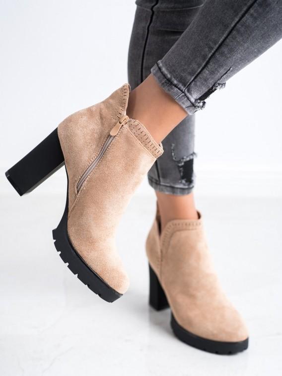 Topánky na podpätku