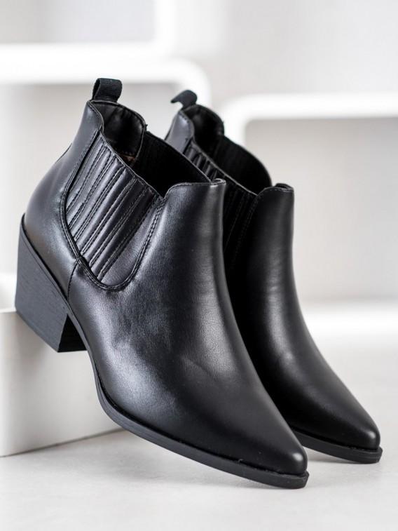 Nízke členkové topánky do špičky