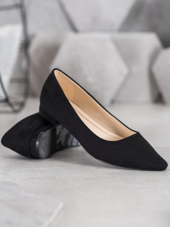 Klasické čierne baleríny