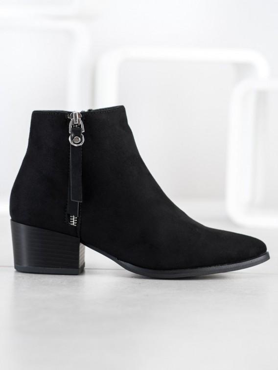 Zateplené neformálne členkové topánky