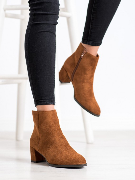 Dámske členkové topánky zapeplené