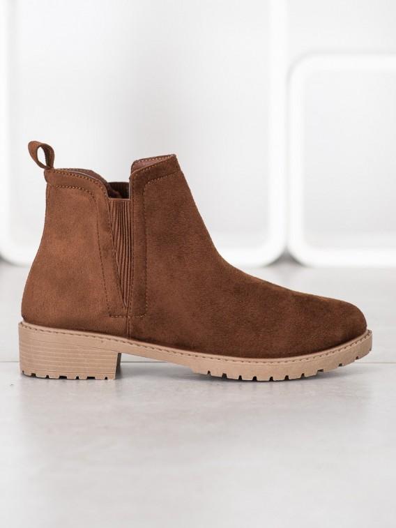 Teplé hnedé topánky