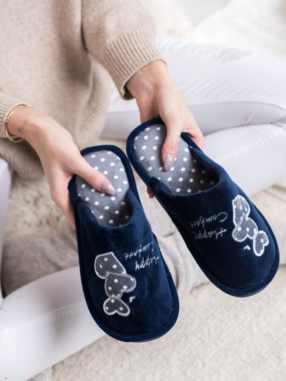 Zateplené papuče Happy Comfort