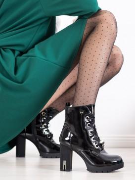 Lakované členkové topánky Fashion