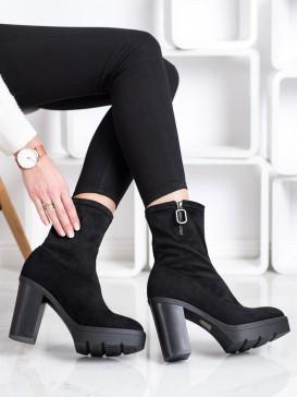 Štýlové členkové topánky na platforme
